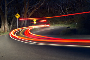 Creative Photography course in Blue Mountains. Long Shutter Speeds.